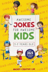 Omslag - Awesome Jokes for Awesome Kids 5-7 Years Old