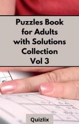 Omslag - Puzzles Book for Adults with Solutions Collection