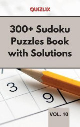 Omslag - 300+ Sudoku Puzzles Book with Solutions VOL 10