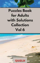Omslag - Puzzles Book with Solutions Super Collection VOL 6