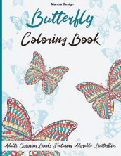 Butterfly Coloring Book for Adults av Mantra Design (Heftet)