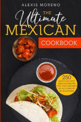 Omslag - The Ultimate MEXICAN COOKBOOK
