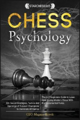 Omslag - Chess Psychology ( Chess for beginners, fundamental, rules, strategies )