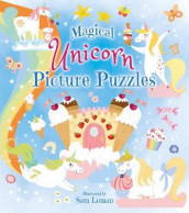 Magical Unicorn Picture Puzzles av Sam Loman (Heftet)