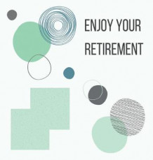 Happy Retirement Guest Book with lined pages (hardback) av Lulu and Bell (Innbundet)