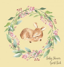 Woodland Baby Shower Guest Book (Hardcover) av Lulu and Bell (Innbundet)