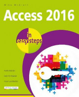 Omslag - Access 2016 in Easy Steps