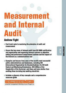 Measurement and Internal Audit av Andrew Fight (Heftet)