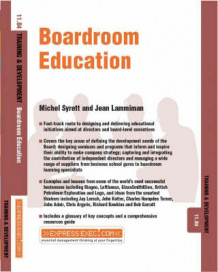 Boardroom Education av Michel Syrett og Jean Lammiman (Heftet)