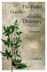 Omslag - The Pocket Gaelic-English English-Gaelic Dictionary