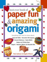 Omslag - Best ever book of paper fun and amazing origami