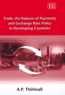 Trade, the Balance of Payments and Exchange Rate Policy in Developing Countries av A. P. Thirlwall (Innbundet)
