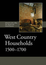 Omslag - West Country Households, 1500-1700
