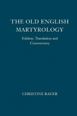 Omslag - The Old English Martyrology