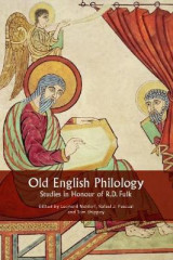 Omslag - Old English Philology