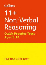 Omslag - 11+ Non-Verbal Reasoning Quick Practice Tests Age 9-10 for the CEM Tests