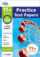 Omslag - 11+ Practice Test Papers (Get Started) for the CEM Tests Inc. Audio Download