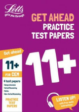 Omslag - 11+ Practice Test Papers (Get Ahead) for the CEM Tests Inc. Audio Download