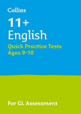 Omslag - 11+ English Quick Practice Tests Age 9-10 for the GL Assessment tests