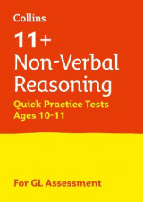 Omslag - 11+ Non-Verbal Reasoning Quick Practice Tests Age 10-11 for the GL Assessment tests