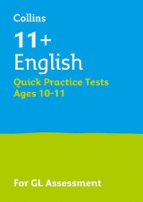 Omslag - 11+ English Quick Practice Tests Age 10-11 for the GL Assessment tests