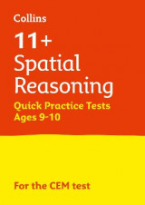 Omslag - 11+ Spatial Reasoning Quick Practice Tests Age 9-10 for the CEM tests