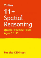 Omslag - 11+ Spatial Reasoning Quick Practice Tests Age 10-11 for the CEM tests