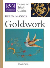 Omslag - RSN Essential Stitch Guides: Goldwork
