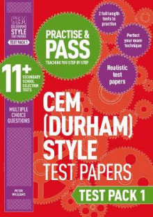 Practise and Pass 11+ CEM Test Papers - Test Pack 1: Test pack 1 av Peter Williams (Heftet)