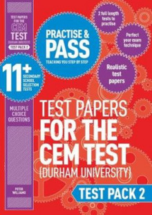 Practise and Pass 11+ CEM Test Papers - Test Pack 2: Test pack 2 av Peter Williams (Heftet)