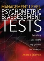Management Level Psychometric and Assessment Tests av Andrea Shavick (Heftet)