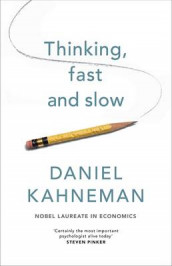 Thinking Fast and Slow av Daniel Kahneman (Innbundet)