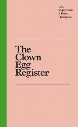 Omslag - The Clown Egg Register