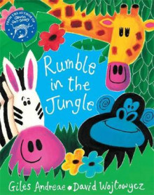 The Rumble in the Jungle av Giles Andreae (Blandet mediaprodukt)