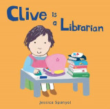 Omslag - Clive is a Librarian