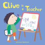 Omslag - Clive is a Teacher