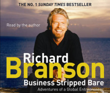 Business Stripped Bare av Sir Richard Branson (Lydbok-CD)