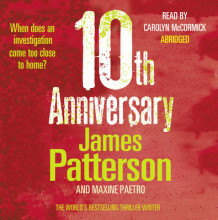 10th Anniversary av James Patterson (Lydbok-CD)