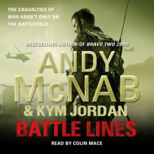 Battle Lines av Andy McNab og Kym Jordan (Lydbok-CD)