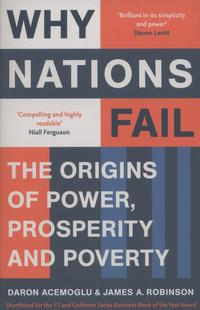 Why nations fail av Daron Acemoglu og James A. Robinson (Heftet)