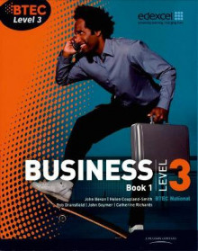 BTEC Level 3 National Business Student Book 1: Book 1 av Catherine Richards, Rob Dransfield, John Goymer og John Bevan (Heftet)