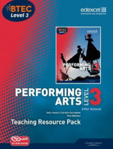Omslag - BTEC Level 3 National Performing Arts TRP Plus CD-ROM