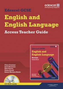Edexcel GCSE English and English Language Access Teacher Guide av Clare Constant (Pakke)