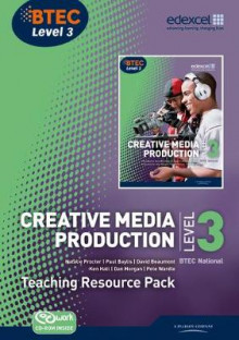 BTEC Level 3 National Creative Media Production Teaching Resource Pack av Paul Baylis, Natalie Procter, Ken Hall, David Atkinson-Beaumont, Pete Wardle og Dan Morgan (Blandet mediaprodukt)