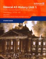 Edexcel GCE History AS Unit 1 F7 from Second Reich to Third Reich av Alan White (Heftet)