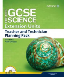 Edexcel GCSE Science: Extension Units Teacher and Technician Planning Pack av Mark Levesley, Penny Johnson, Mary Jones, Iain Brand, Peter Ellis, Steve Gray, Stephen Winrow-Campbell, Sue Jenkin, Carol Chapman og Peter Gray (Blandet mediaprodukt)