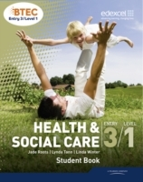Omslag - BTEC Entry 3/Level 1 Health and Social Care Student Book