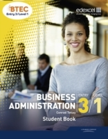 Omslag - BTEC Entry 3/Level 1 Business Administration Student Book