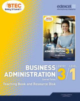 Omslag - Business Administration Teaching Book and Resource Disk: BTEC Entry 3 Level 1
