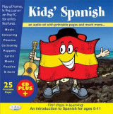 Omslag - Kids' Spanish